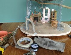 Tutorial: Fairy House Tree Pt. 1 by Torisaur, via Flickr LS