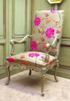 Antique & French Furniture : French Regency Chairs (1715-1723)
