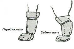 Обувь для собак своими руками1