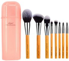 Price:  US $25.98 / Set   Discount Price: US $12.99 / Set 50% off vela.yue Deluxe Makeup Brush Set Synthetic Face Cheek Eyes Lips Beauty Tools Kit with Gift