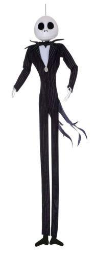 #disney Disney The Nightmare Before Christmas Jack Skellington Full Size Posable Hanging please retweet