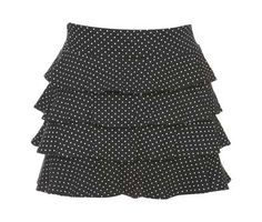 The Ra-Ra skirt. 1990's polka dots