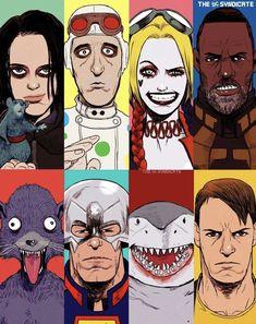 Comic Villains, Dc Comics Characters, Dc Comics Art, Marvel Dc Comics, Fictional Characters, Comic Movies, Comic Books Art, Comic Art, Suiced Squad