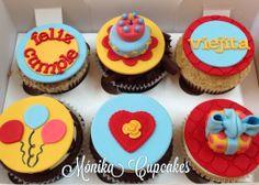 Feliz cumple viejita cupcakes!