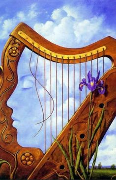 Instrument or Face of Women/ By Rob Gonsalves