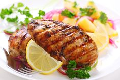 With these recipes, you'll feel like a winner, winner serving amazing chicken dinners!  1. Grilled Honey Lime Jalapeno Chickenkitchme.comGet a little bit of