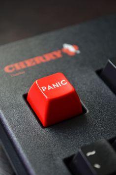 Panic Keyboard Button