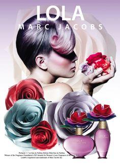 2011 Campaign for Marc Jacobs Lola perfume Lola Perfume, Perfume Ad, Parfum Marc Jacobs, Marc Jacobs Lola, Boutique Parfum, Ad Art, Cosmetics, Ad Campaigns, Fragrances