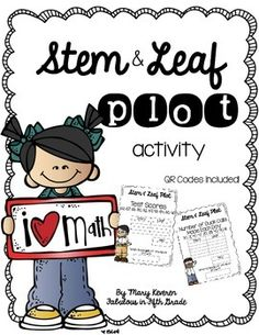 Stem-and-Leaf Plot | Math resources, Fifth grade math ...
