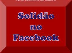 Solidão no Facebook