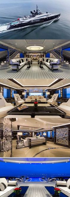 Completed by Italian shipyard ISA Yachts back in OKTO Luxury Yacht is a jaw dropping superyacht with spacious contemporary interiors and stylish exteriors Yacht Design, Boat Design, Luxury Yacht Interior, Luxury Cars, Luxury Vehicle, Luxury Houses, Luxury Vinyl, Luxury Apartments, Super Yachts