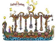 'Disney Festival of Fantasy Parade' Floats #DisneyWorld