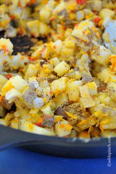 Breakfast Potatoes make a delicious addition to any breakfast or brunch menu. Get this scrumptious, yet so very simple breakfast potatoes recipe.