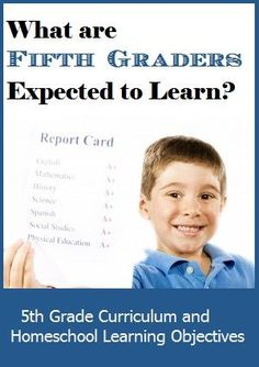 What Are Fifth Graders Expected to Learn