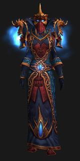 Priest Xmog - Regalia of the Chromatic Hydra (Lookalike) - Transmog Set - World of Warcraft