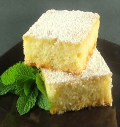 Key Lime and White Chocolate Cake Squares
