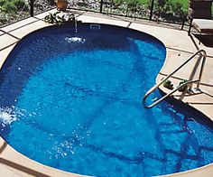 The best fiberglass swimming pools in the Daytona Beach, FL region. The best designs and colors to choose from. Contact us to learn more and get into a pool today! Fiberglass Pool Cost, Fiberglass Swimming Pools, Swimming Pool Sales, Swimming Pool Designs, Dallas Fort Worth Texas, Daytona Beach Florida, Pool Shapes, Pool Installation, Backyard Pool Designs