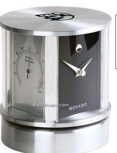 desk clock with thermometer - Google Search