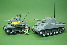 Brickmania M2A4 Light Tank