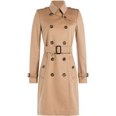 Burberry London Cashmere Trench Coat