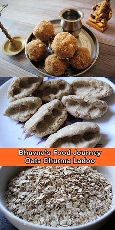I have a very fond memory of my dad preparing churma ladoo. He is almost 90 and this recipe is as old as since he started making it in his young days. He never let my mom make this sweet by herself 😃  I have used his recipe but instead of ladoo or wheat flour I used oats as I am gluten intolerant and able to eat oats. How To Make Dough, Clarified Butter, Gluten Intolerance, Roasted Peanuts, Oat Flour, Vegetarian Cooking, Tray Bakes, Gluten Free Recipes, Free Food