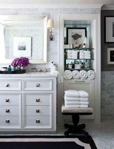 Eggshell Home Blog - Bathroom Marble Tile Classic Luxury