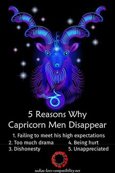 5 Reasons Why Capricorn Men Disappear & How to Stop Them! All About Capricorn, Horoscope Capricorn, Capricorn Women, Capricorn Facts, Zodiac Signs Capricorn, Gemini Woman, Capricorn And Aquarius, Horoscopes, Zodiac Art