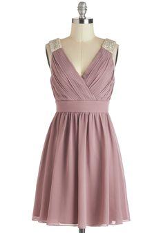 A Mauve-elous Occasion Dress, #ModCloth