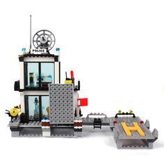 2017 Kazi Police Station Blocks Bricks Building Blocks Sets Model Helicopter Speedboat Educational Education Toys For Children-in Blocks from Toys & Hobbies on Aliexpress.com | Alibaba Group