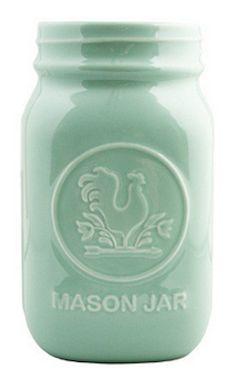 Mint mason jar http://rstyle.me/n/mcnurnyg6