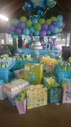 Baby Showers Monster Inc