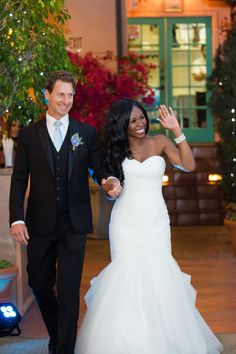 Gorgeous interracial couple wedding photography #love #wmbw #bwwm