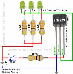 transistor wiring diagram comfortmaker 27 best npn as a switch images electronic circuit 2n2923 design hardware software electronics