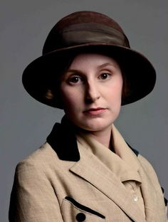 A Downton Abbey hat.  Lady Edith is turning out to be my fave.