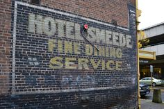 Hotel Smeede in Eugene, Oregon   10 ghost signs offer a peek into a pre-digital world   MNN - Mother Nature Network