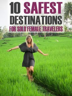 10 Safest Destinations for Solo Female Travelers I'm often asked for female travel tips and where it's safe for women to travel solo. Here are 10 of the safest destinations for solo female travelers! Solo Travel, Time Travel, Places To Travel, Places To See, Travel Tips, Travel Hacks, Travel Advice, Travel Essentials, Travel Ideas