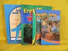 ABeka  Letters & Sounds 2, Enjoying God's World, Reading Homeschool / School  #TextbookBundleKit