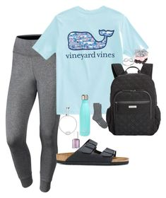 Barbour, birkenstock, vera bradley, kendra scott, s& and vin Summer School Outfits, Back To School Outfits, College Outfits, Everyday Outfits, Outfits For Teens, Spring Outfits, Outfits With Converse, Sporty Outfits, Jean Outfits