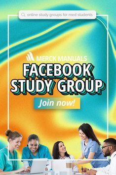 Med Student, Merck Manual, Fall Semester, Virtual Class, Med School, Medical Students, Study Tips, Remote, Join