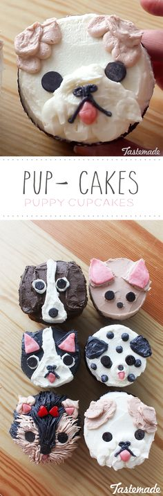 """Had a """"ruff"""" day? Rectify it with these adorable and delicious cupcakes."""