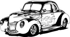 Draw car Monster Truck Coloring Pages, Cars Coloring Pages, Car Drawing Pencil, Minions, Cool Car Drawings, Hot Wheels Birthday, Boy Coloring, Cool Vans, Old School Cars