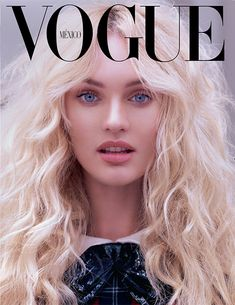 #CandiceSwanepoel by #MarianoVivanco for the cover of #VogueMexico September 2013 textured waves