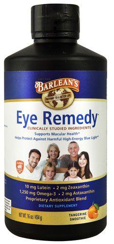 Barlean's Eye Remedy™ Tangerine Swirl
