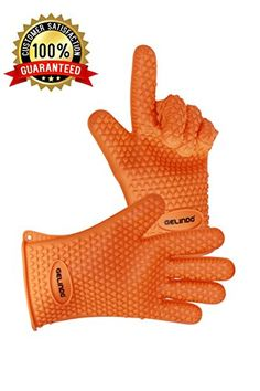 Gelindo Silicon Oven Mitts, 1 Pair, FDA Approved BBQ Insulated Gloves w/ 5-Finger Anti Slip Grip - Best for Grilling & Holding Hot Pots- Heat Resistant Up to 425° -Waterproof, BPA-Free & Eco-friendly Gelindo http://www.amazon.com/dp/B016VS7F3E/ref=cm_sw_r_pi_dp_AIKwwb117TRC0