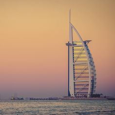 Burj Al Arab is the symbol of modern Dubai.
