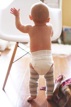the daybook - baby leg warmers so adorable!