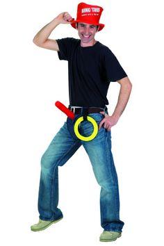 junggesellenabschied kostum fur manner ringe werfen witzig kommt als strassenspiel ziemlich gut junggesellenabschied