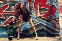 Image result for skateboard and graffiti photography