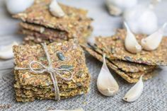 How to Make Gluten-Free, Lactose-Free Seed Crackers Sans Gluten Ni Lactose, Lactose Free, Fără Gluten, Gluten Free Flour, Vegan Gluten Free, Fodmap Recipes, Vegan Recipes, Crackers, Healthy Biscuits