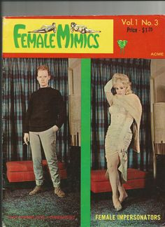 Vintage shemale magazines